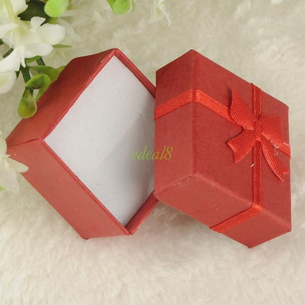 Jewelry Ring Earring Watch Necklace Small Large Carton Present Gift Box Case