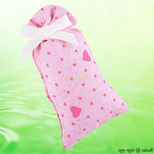 Scented Wedding Favor Blackberry Jasmine Green Tea Rose Tulip Smell Sachet Bag