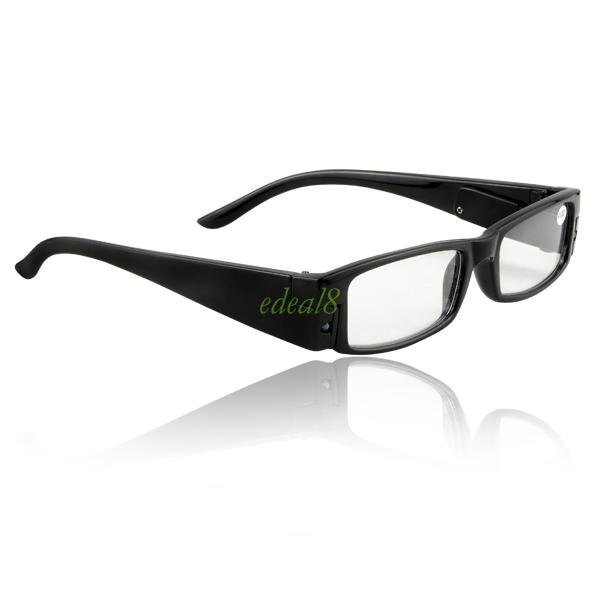 Reading Glasses With LED Light Assorted Magnifier ...