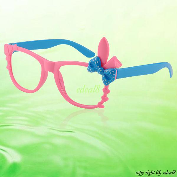 For Children Kids Baby Cute Bunny Ears Glasses Spectacle ...
