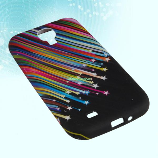 BACK PROTECTIVE SILICONE SOFT SKIN CASE COVER POUCH FOR SAMSUNG GALAXY I9500 S4