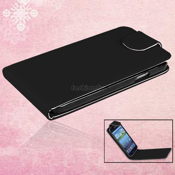Flip-Vertical-PU-Durable-Leather-Pouch-Case-Cover-For-Samsung-i9500-Galaxy-S4-IV
