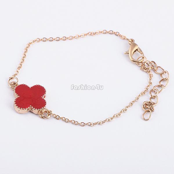 girls sweet heart star bowknot bangle punk style bone skull bracelet hand chain