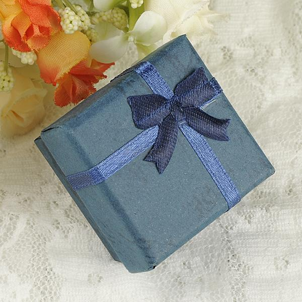 jewelry ring earring bangle watch small large gift box square carton bow case