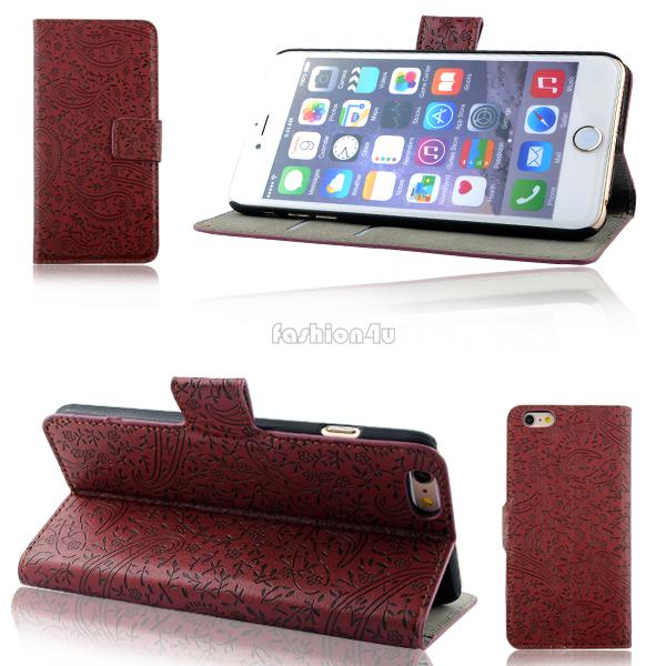 For Mobile Phone Lavender Printed Flip PU Leather Wallet Colorful Case Cover