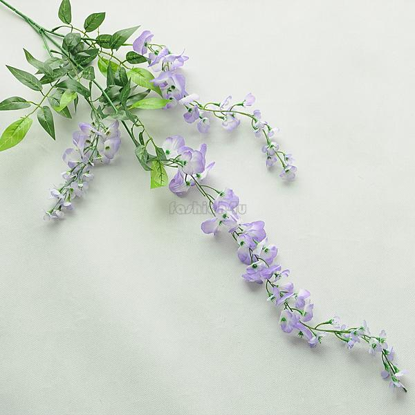 Wall Hanging Artificial Silk Wisteria Garland Flower Vine Wedding Garden Decor
