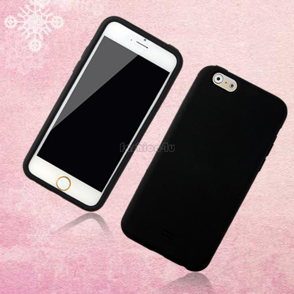 Shockproof Soft Gel Silicone Rubber Case Cover Shell Skin For Apple iPhone 6