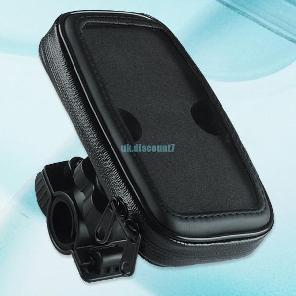 waterproof bike bicycle handlebar case bag pouch for iphone 5 samsung galaxy s3