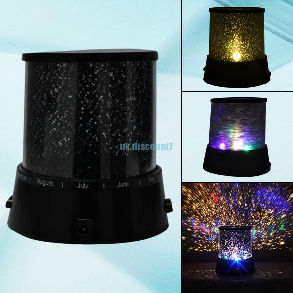 Fantastic Cosmos Master Star Sky Ocean Lover Beauty Night Projector Light Lamp