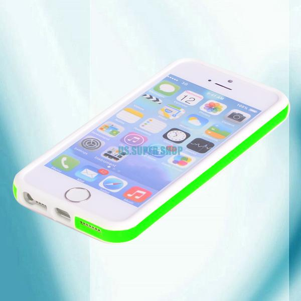 iphone 5s pictures side button bumper frame tpu cover for apple iphone 4 6754